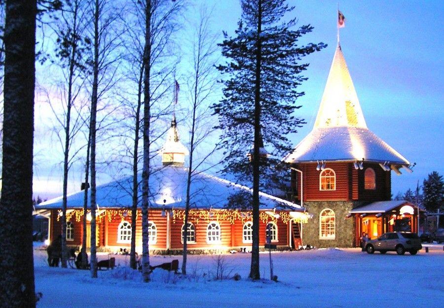 Casa Di Babbo Natale Al Polo Nord.Vieni A Scoprire La Casa Di Babbo Natale Bigodino