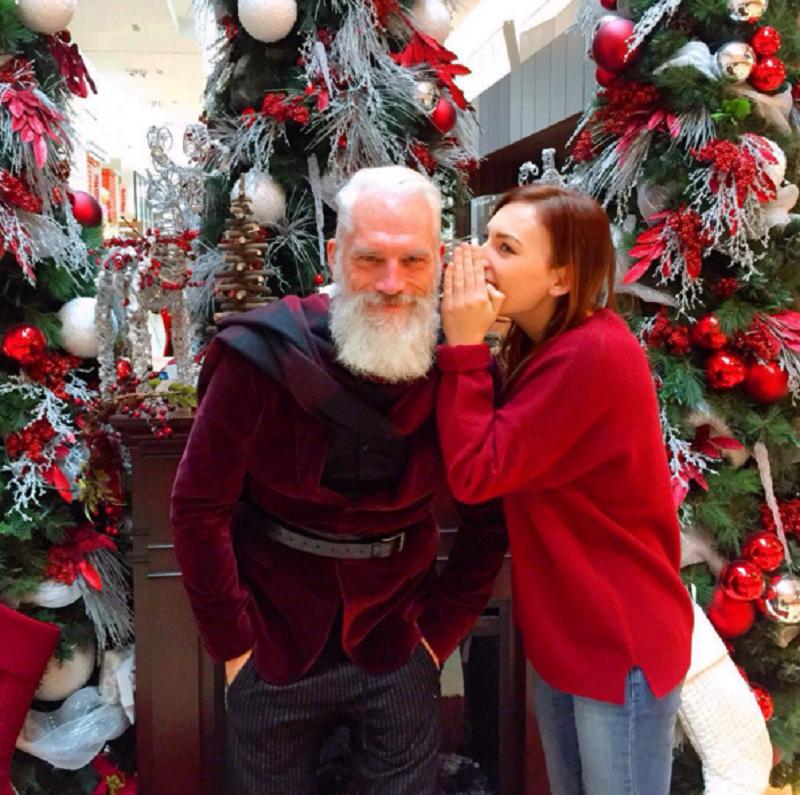shot Santa