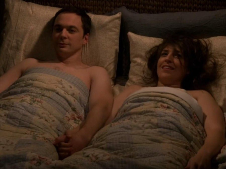 Sheldon & Amy in The Big Bang Theory