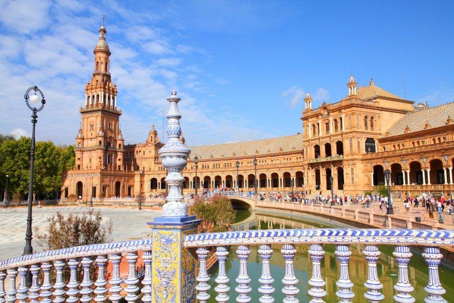Siviglia, capoluogo dell'Andalusia