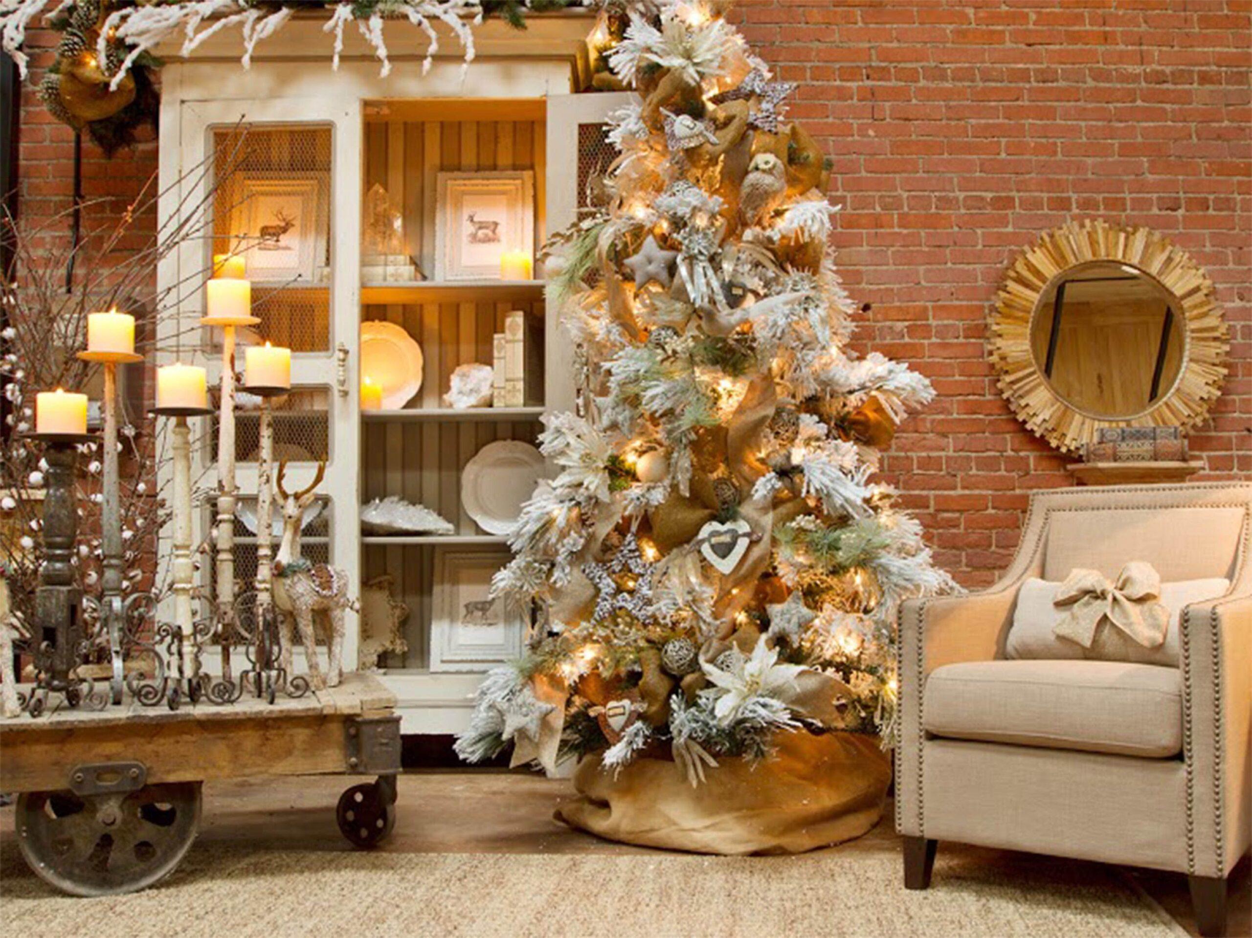 DIY: addobbi natalizi shabby-chic