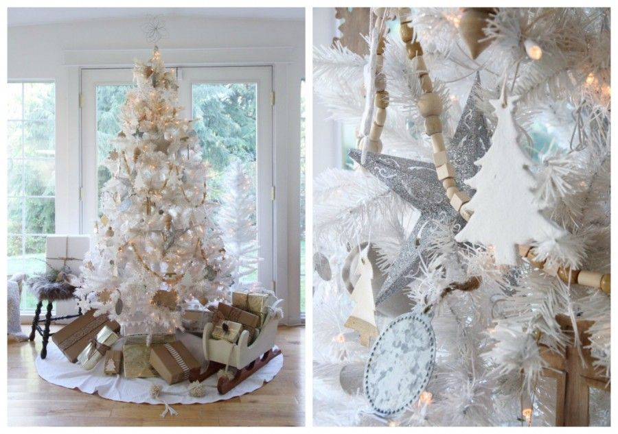 albero bianco Collage