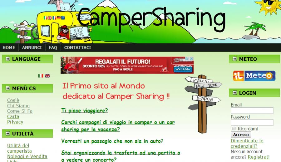 Camper sharing