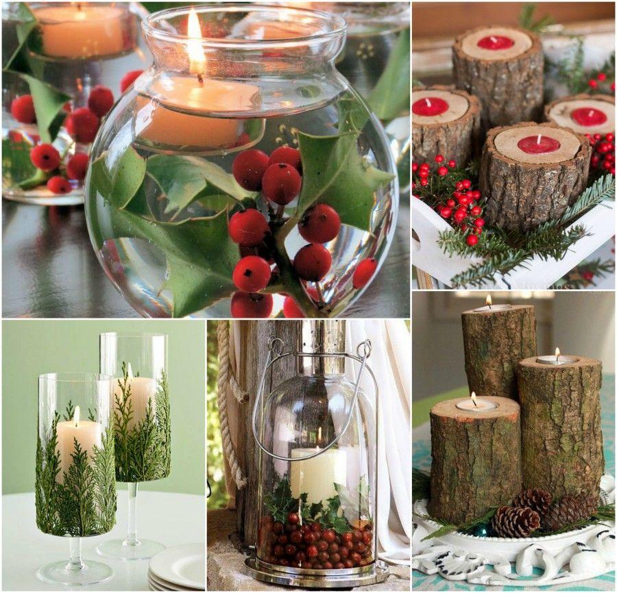 Come decorare le candele per natale interesting candela - Decorare candele per natale ...