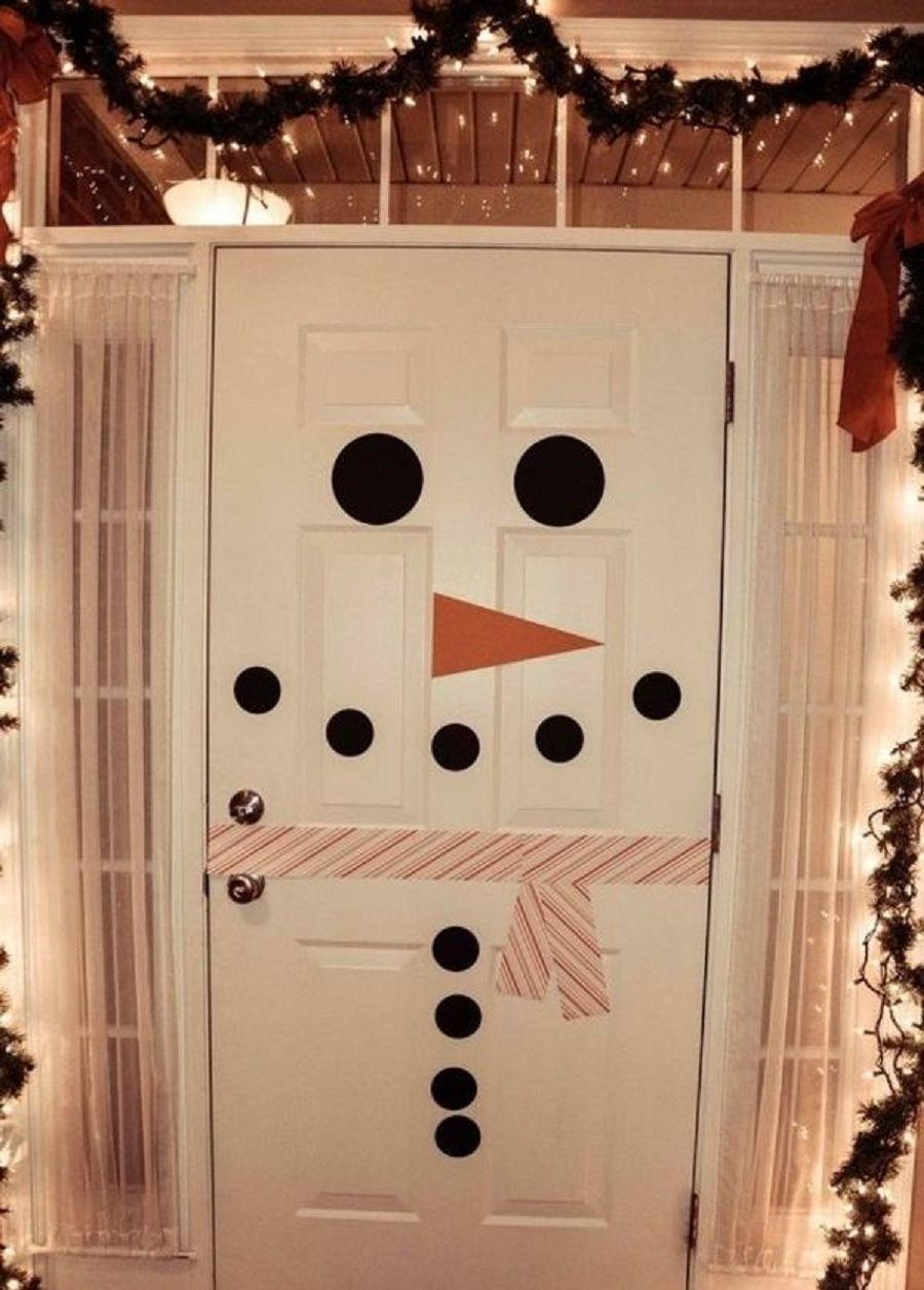 decorazioni-natale-camera-dei-bambini-porta