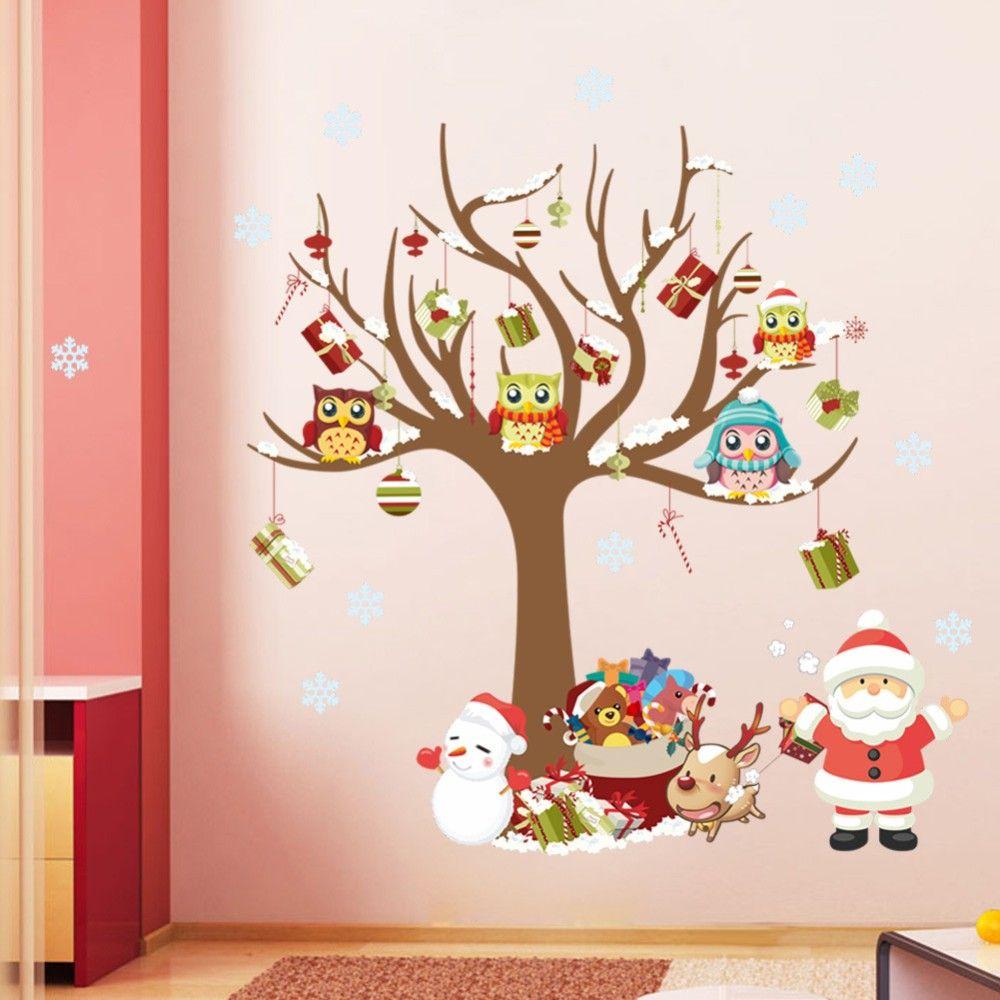 decorazioni-natale-camera-dei-bambini-stickers