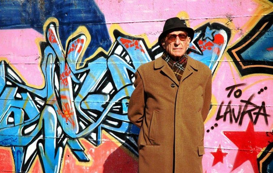Gillo Dorfles al Macro, Roma