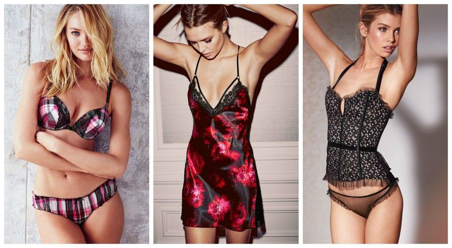 lingerie Collage