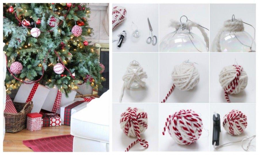 Molto DIY: addobbi natalizi shabby-chic | Bigodino BX55