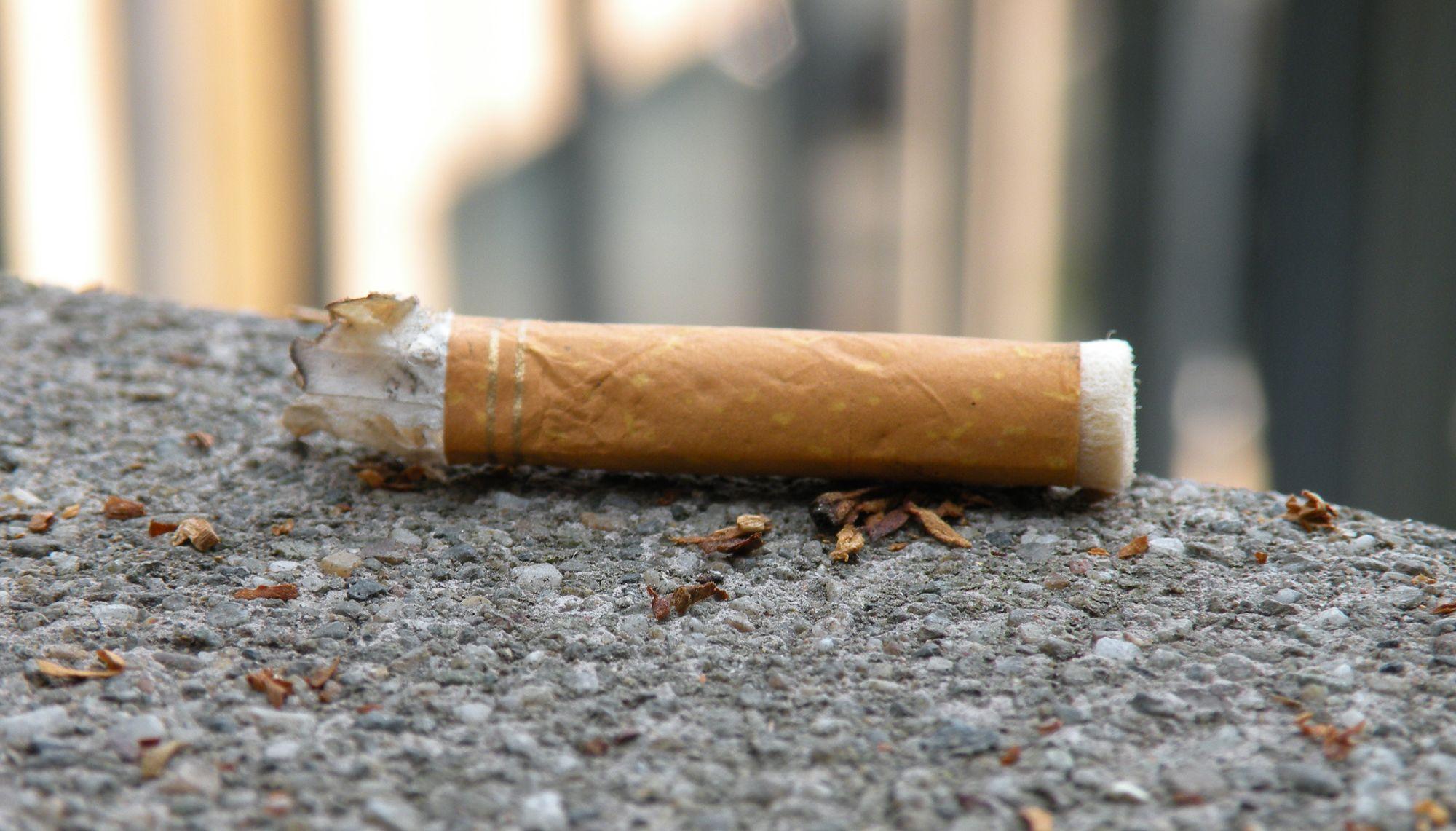 sigaretta-per-terra