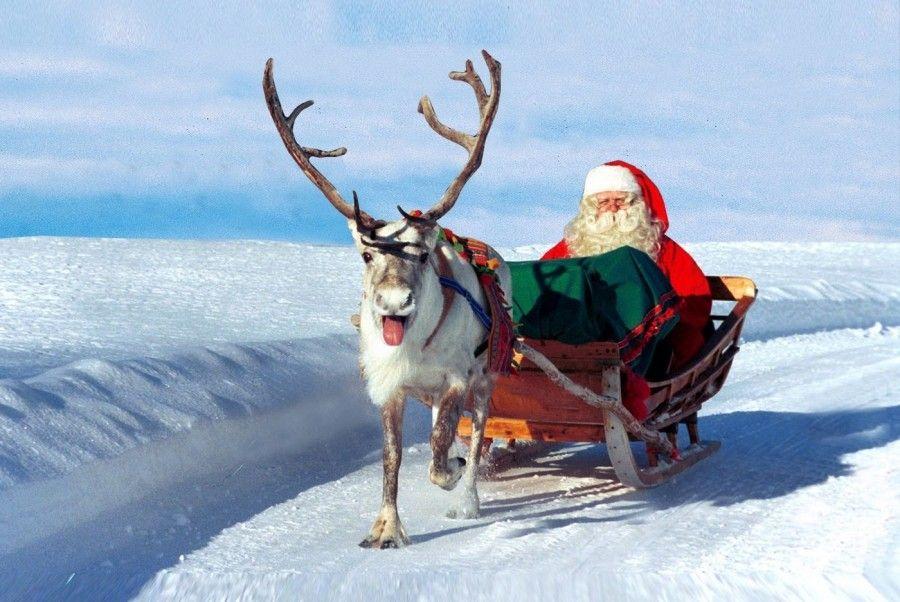 Babbo Natale Polo Nord.Vieni A Scoprire La Casa Di Babbo Natale Bigodino