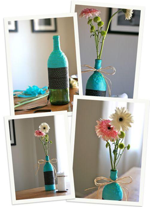 Vaso fiori DIY