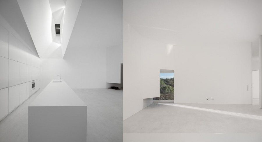 Gli interni. House in Fontinha
