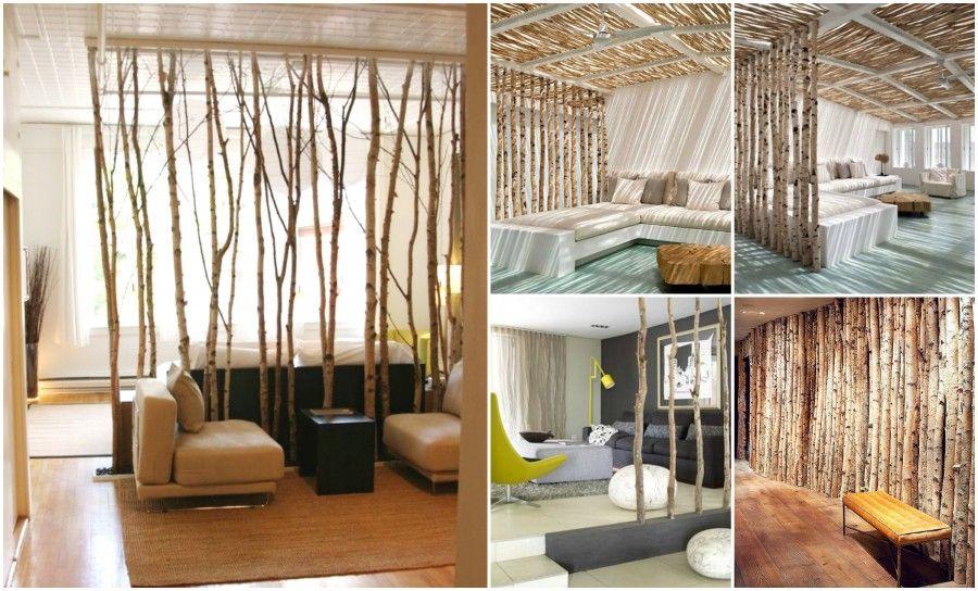 Listelli decorativi in legno per mobili idee creative di - Mobili divisori ...