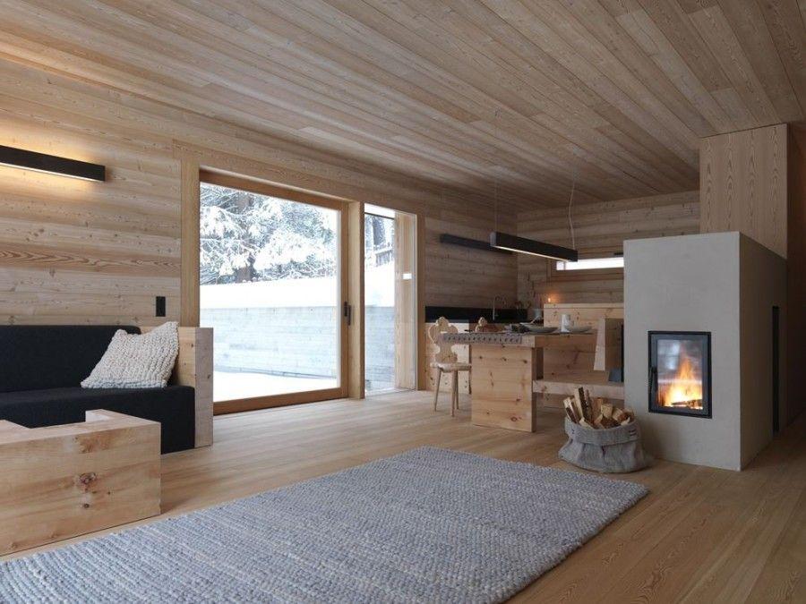 Tamersc Mountain Lodge. Zona giorno