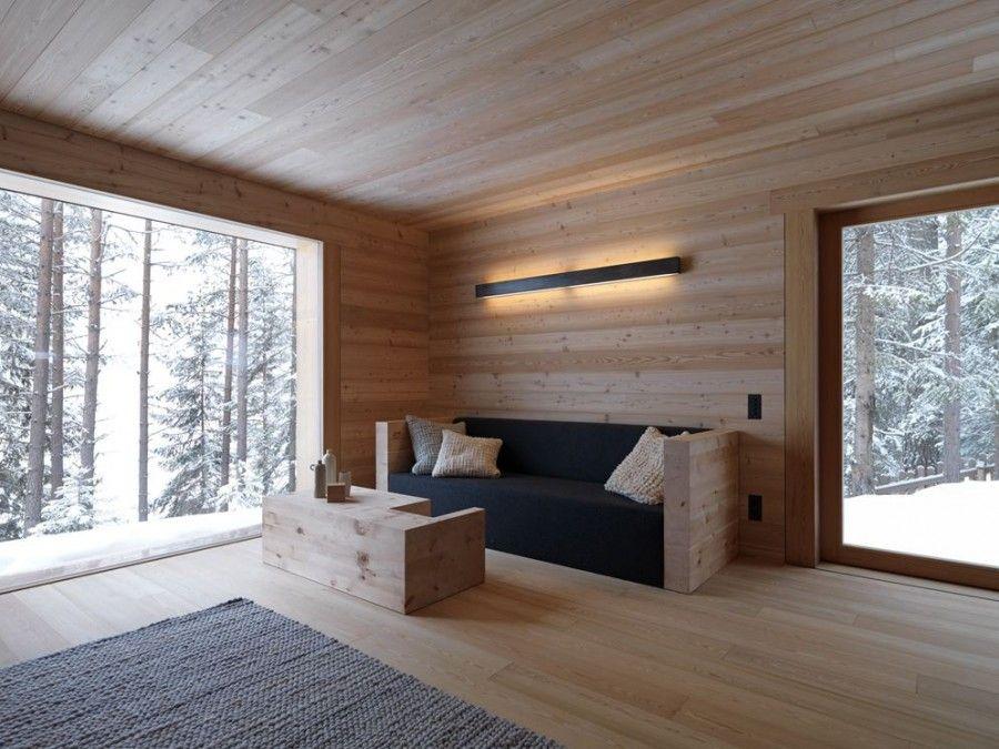 Tamersc Mountain Lodge. Living