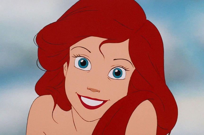 Ariel con il trucco