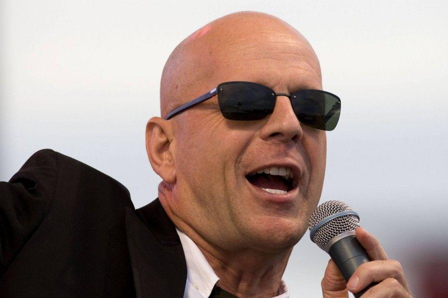Bruce Willis icona dell'uomo calvo e bello
