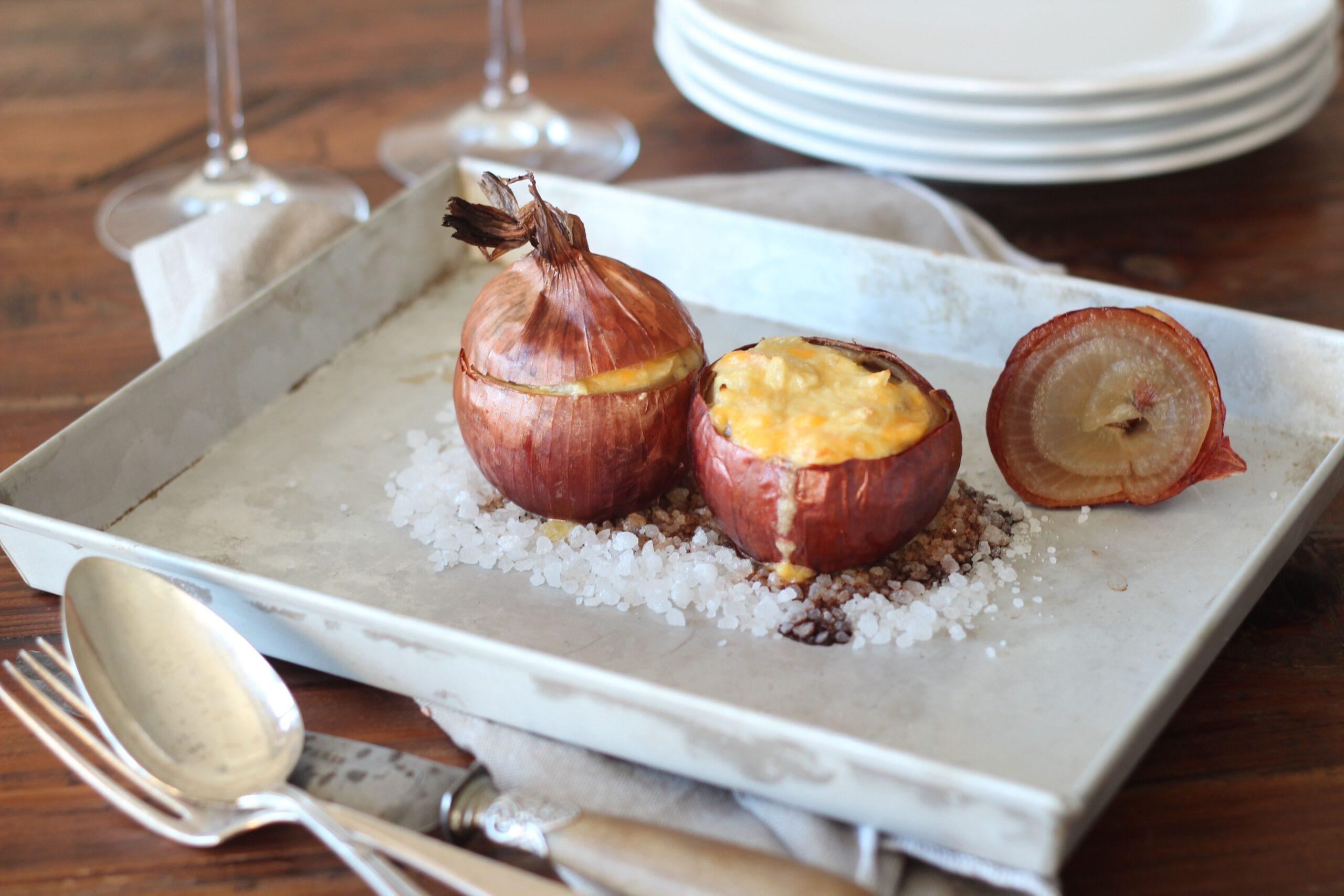 Cipolle ripiene: la ricetta con solo 3 ingredienti