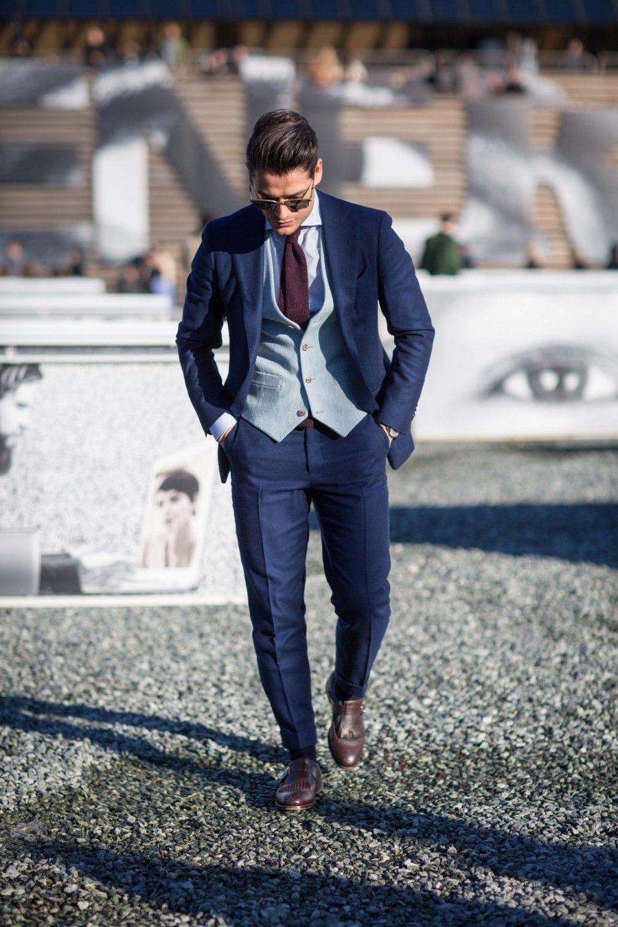 Frank Gallucci (Street Style Ph. by Federico Avanzini)