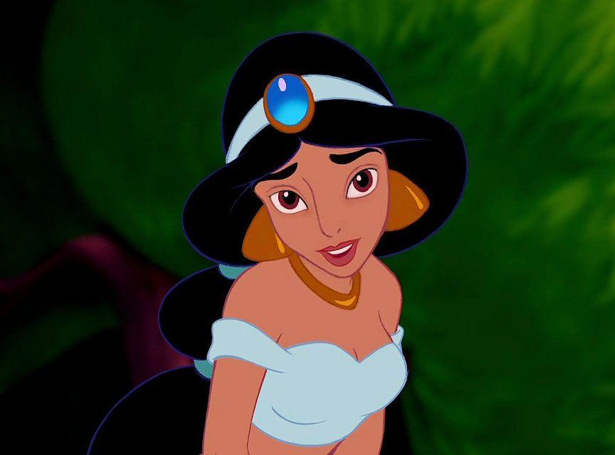 Jasmine senza trucco