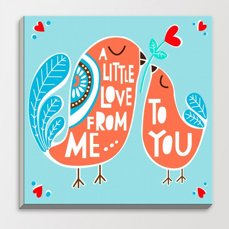 Love-Bird-Square-Blue-Modern-Motivational-Quotes-Typography-Poster-Abstract-Animal-Wood-Framed-Canvas-Painting-Big (1)