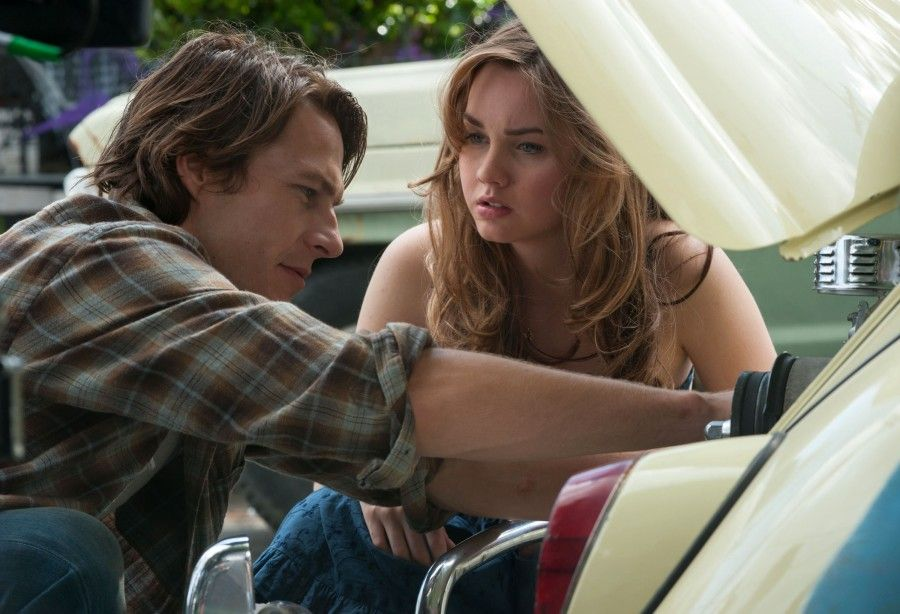 M129 (Left to right.) Stars Luke Bracey and Liana Liberto star in Relativity Media's THE BEST OF ME.© 2014 Best of Me Productions, LLC All Rights Reserved. Photo Credit: Gemma LaMana