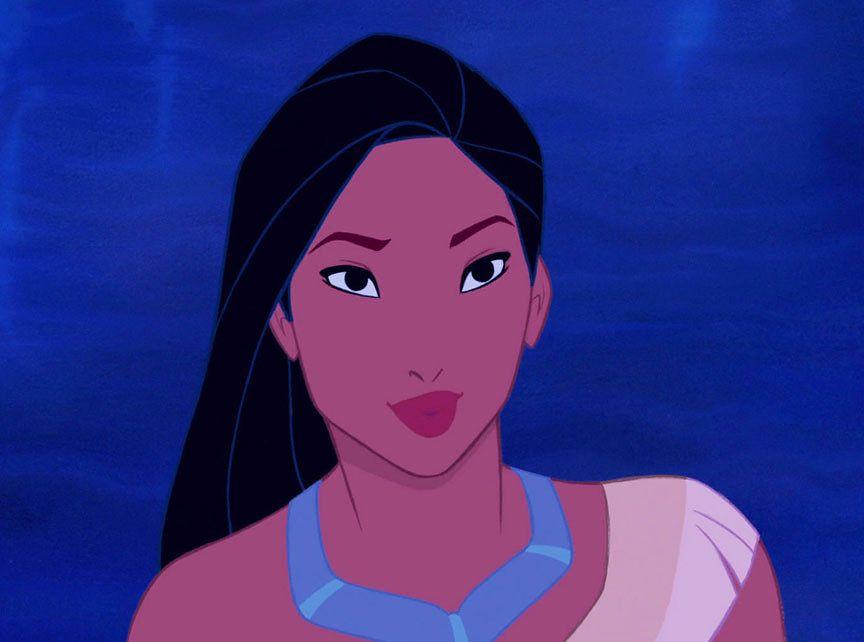 Pocahontas truccata