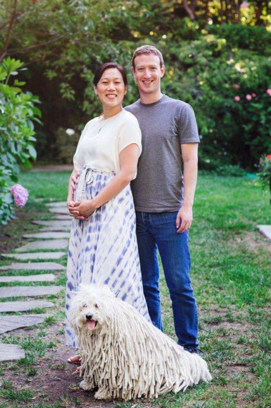 Priscilla Chan e Mark Zuckenberg