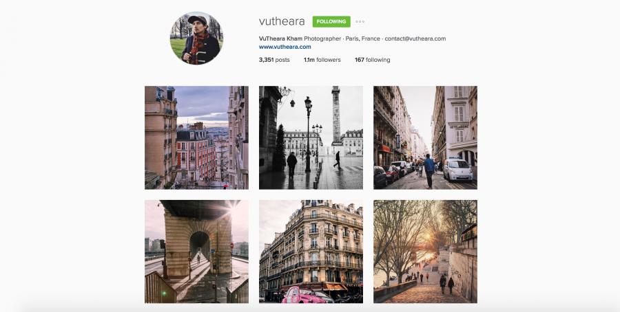 Vutheara su Instagram