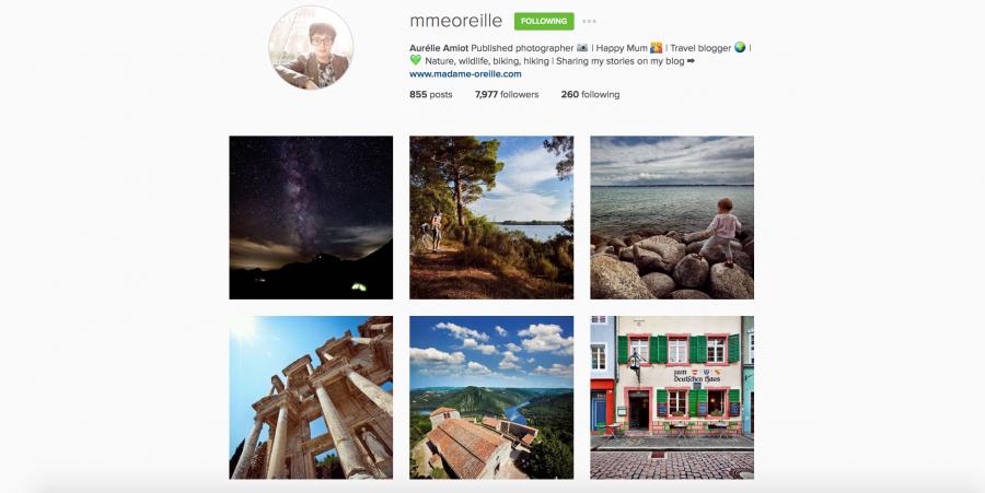 Aurelie Amiot su Instagram