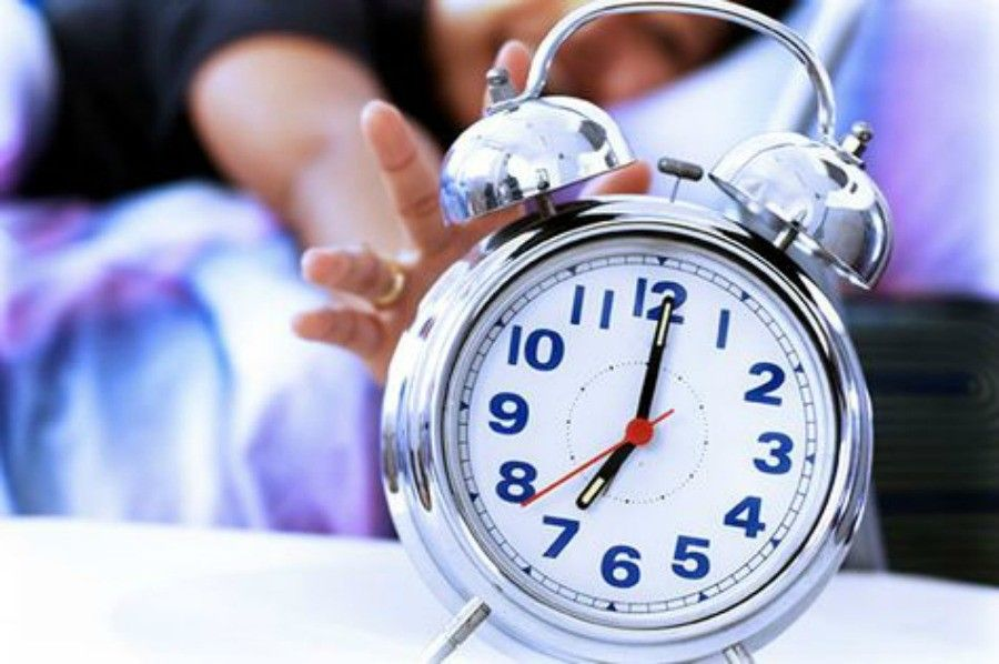 alzarsi presto