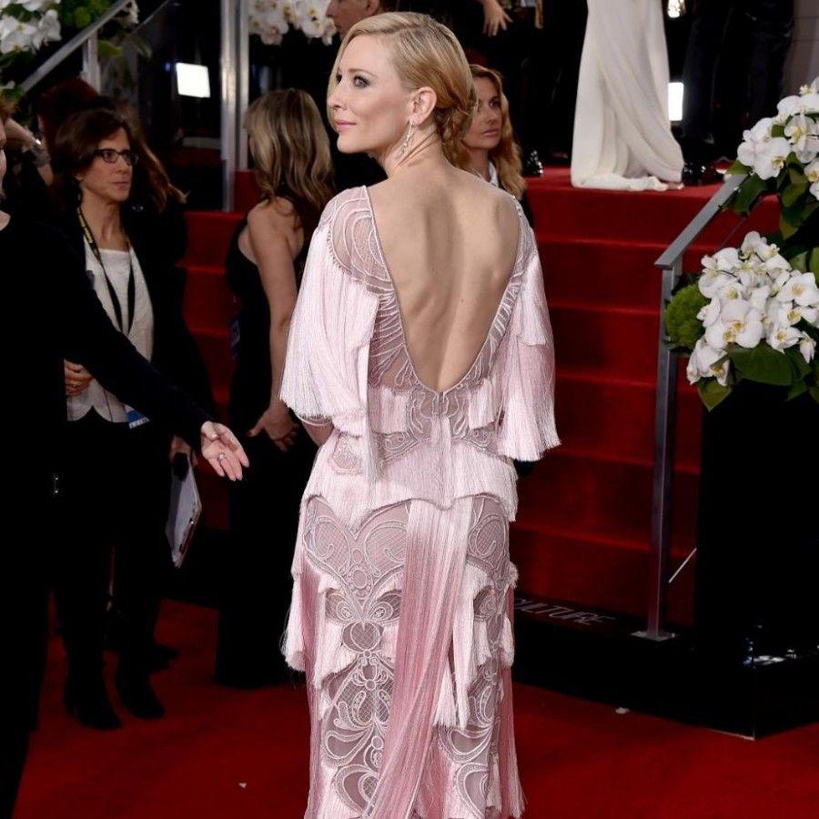 Cate Blanchett ai Golden Globe 2016