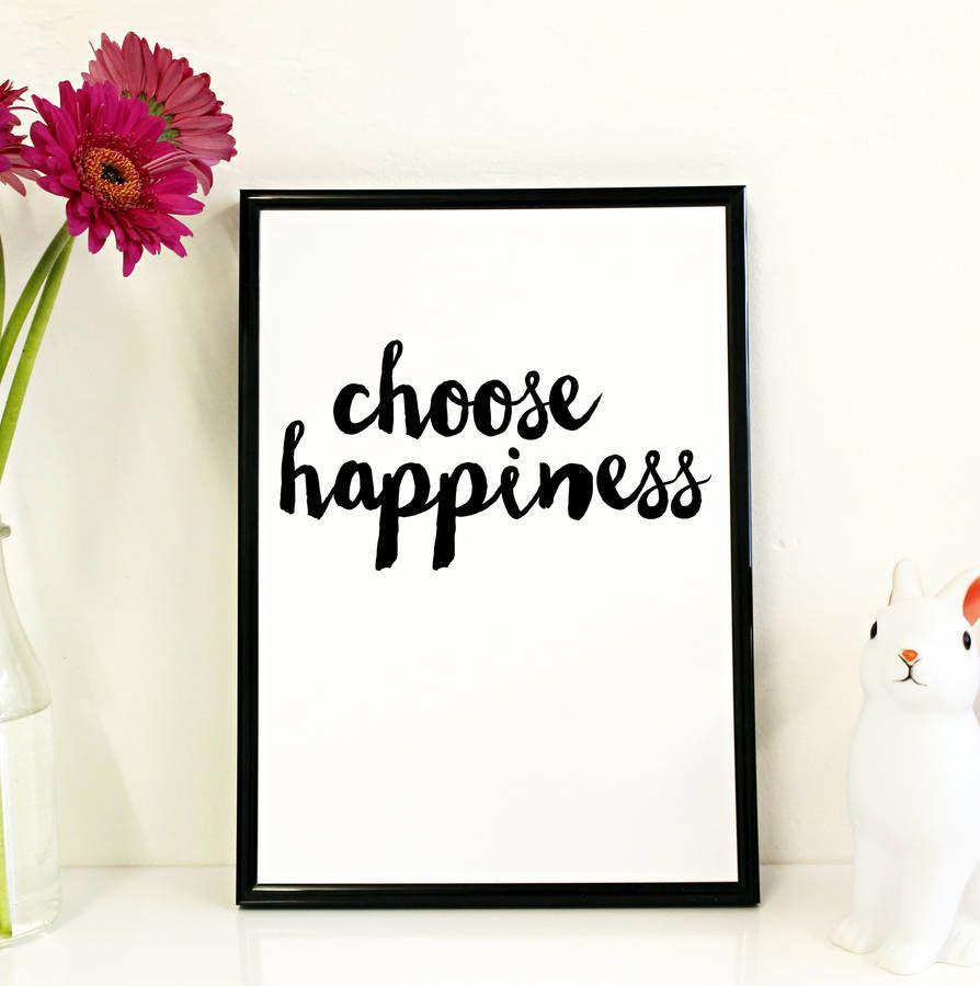scegli la felicità... dipende solo da te!