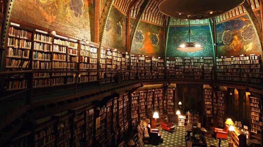 ...cioè immaginatevi qui, nella biblioteca di hogwarts...