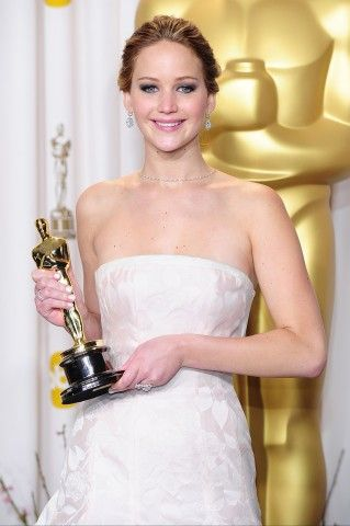 Jennifer Lawrence agli Oscar 2013