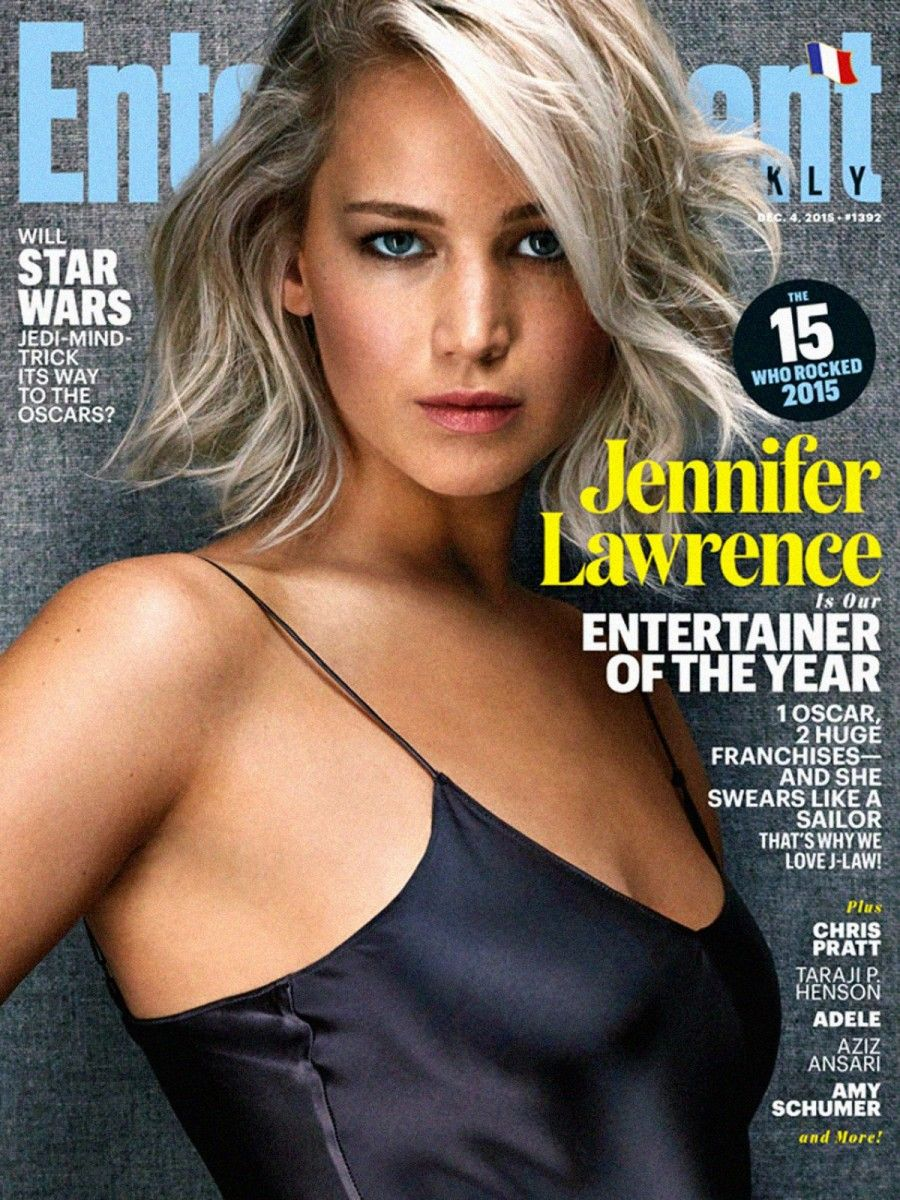 Jennifer Lawrence sulla copertina dell'Entertainment Weekly