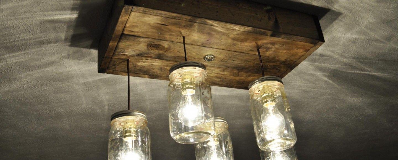 Lampadari diy tante idee per illuminare la casa bigodino - Idee per illuminare casa ...