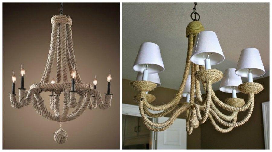 lampada corda Collage