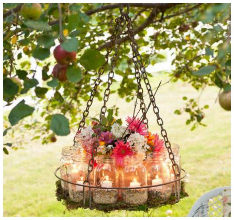 lampadario floral Collage