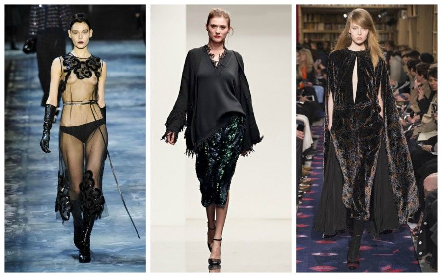 marc jacobs, the row, sonia rykiel Collage