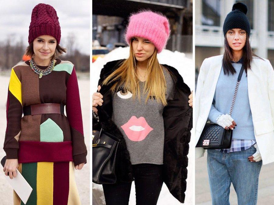 Come indossare il berretto di lana senza sembrare buffe  19c677205479