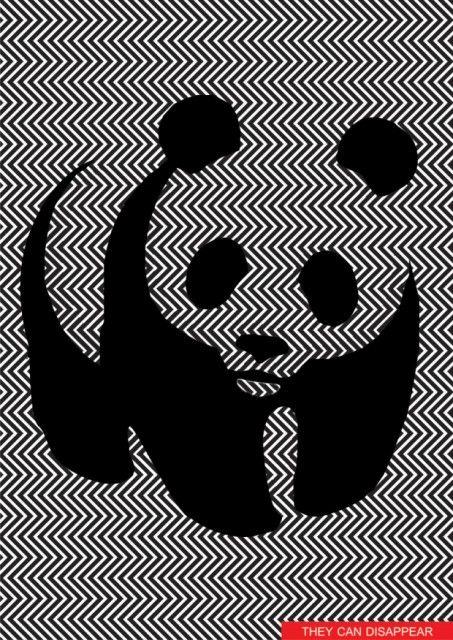 Il panda nascosto