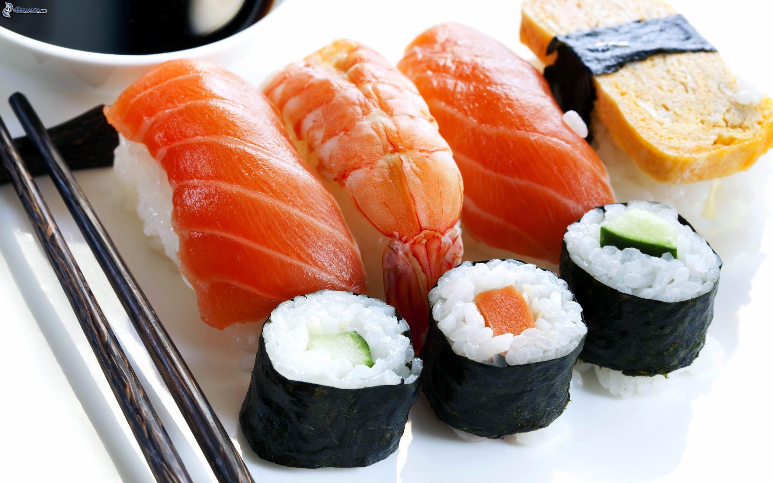 Se mangi sushi vivi più a lungo