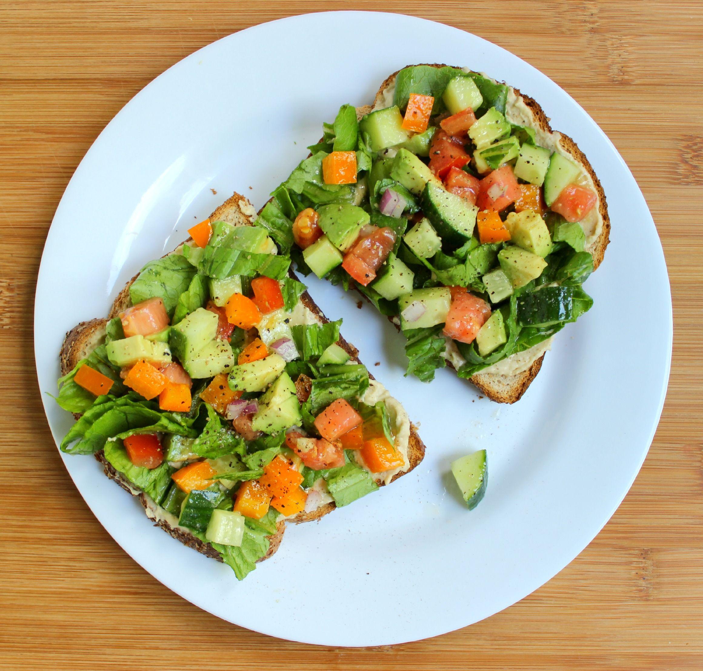 toast-veggie