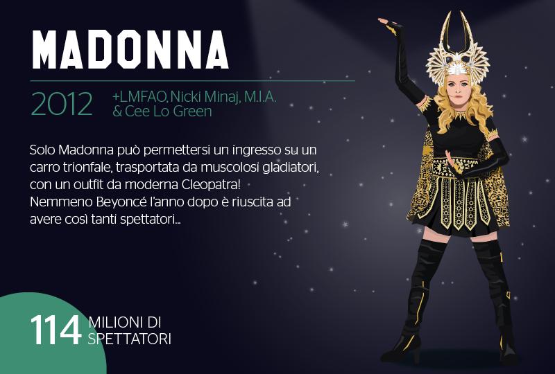 2012 - Super-Bowl - Madonna