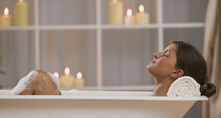 segreti per fare un bagno rilassante  Bigodino