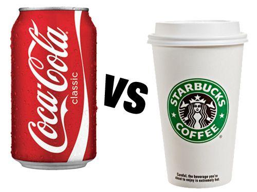 Coca cola contro Starbucks