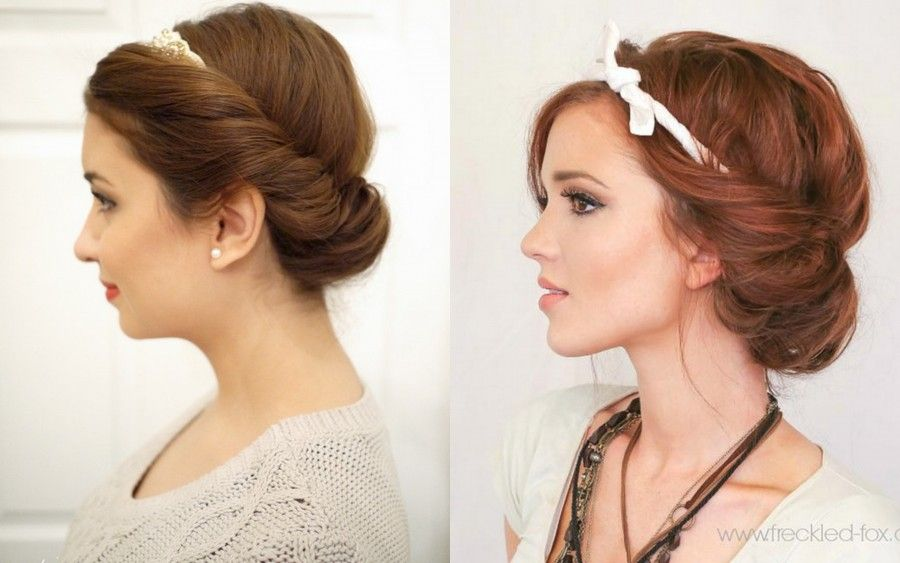 Croissant Hairstyle DIY
