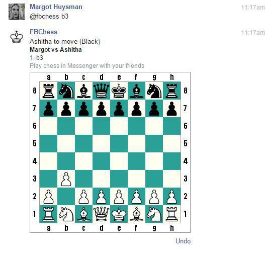 Facebook scacchi